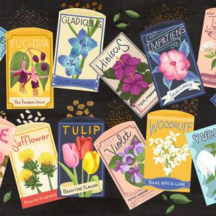 A-Z Edible Flowers