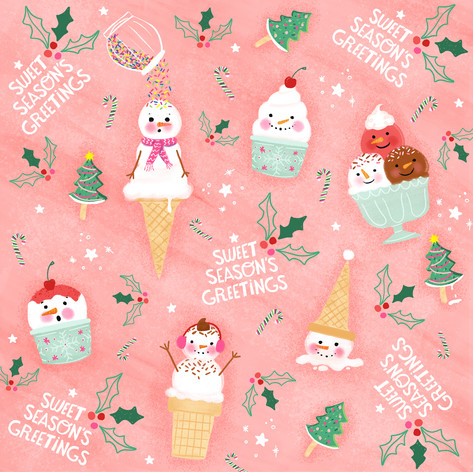 Ice Cream Snowpeople