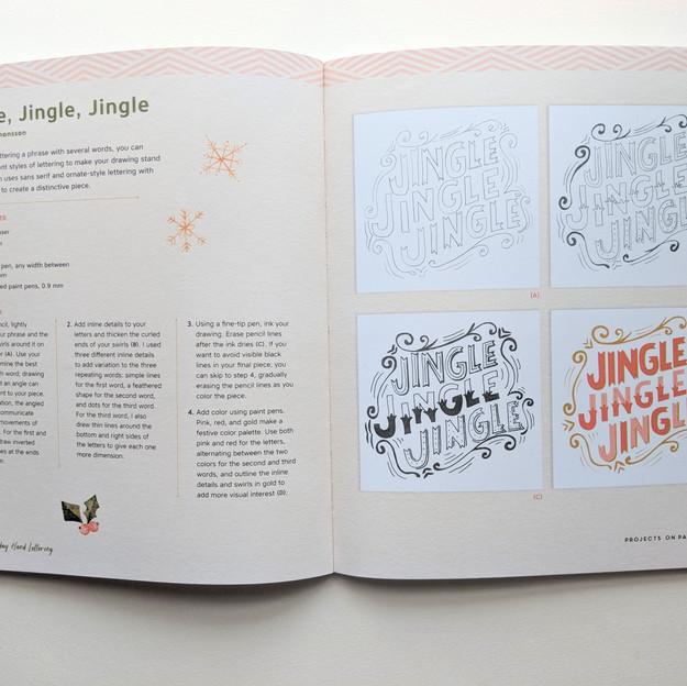 Jingle Jingle Jingle Illustrated Lettering