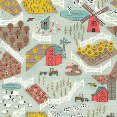 Farm Land Pattern