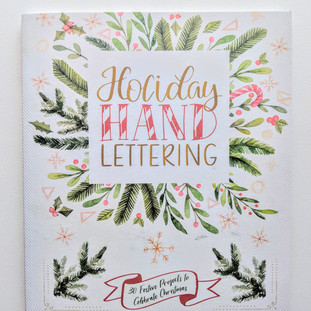 Holiday Hand Lettering for Barnes and Noble