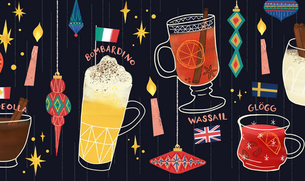 Christmas Drinks from Around the World