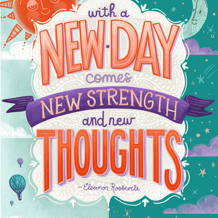 New Day Encouragement Quote