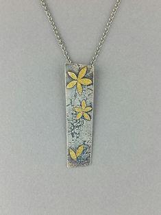 131 wildflower pendant