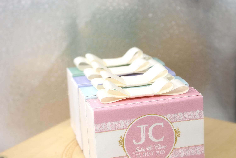 婚禮松露朱古力禮盒 2顆裝