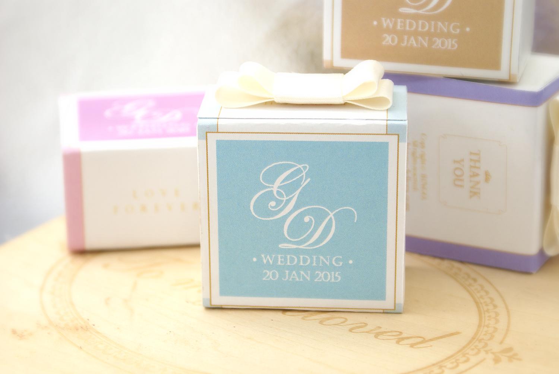 婚禮回禮手造朱古力紀念球禮盒 1顆裝