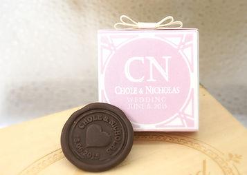 Wedding Chocolate Commermrative Coin 1pc 婚禮手造朱古力紀念幣禮盒 1枚裝