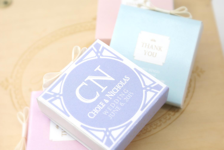婚禮回禮手造朱古力紀念幣禮盒 1枚裝