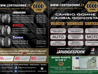 CENTO GOMME BUDRIO - PROMOZIONE MARZO 2017