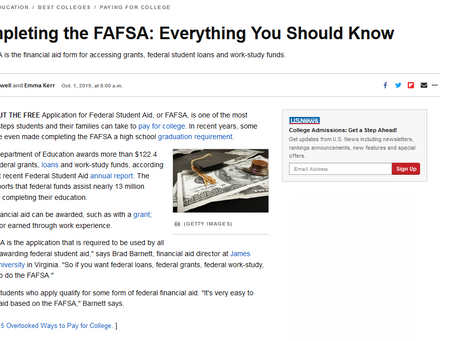 Everything You Need to Know about FAFSA