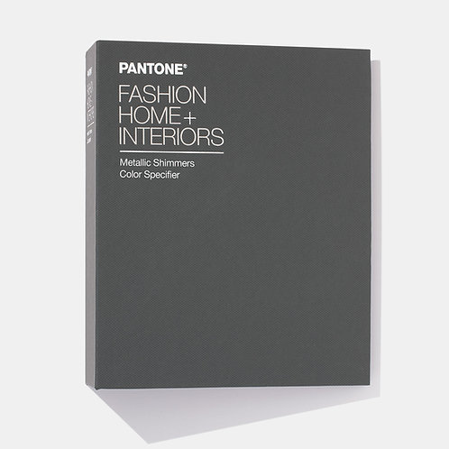 Fashion, Home + Interiors (FHI) Metallic Shimmers Color Specifier
