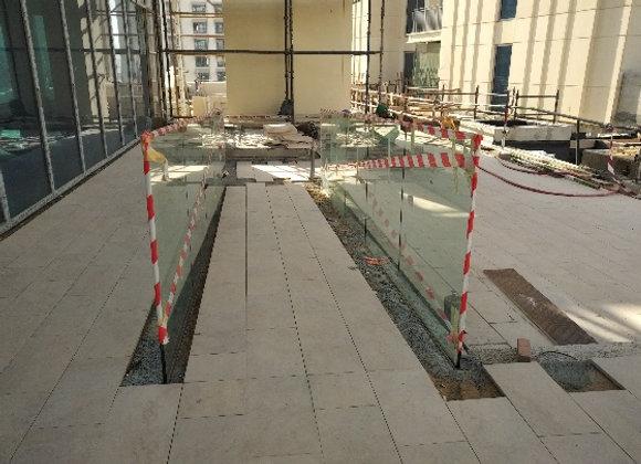 Glass Fence - Dubai Creek Harbour Plot 18
