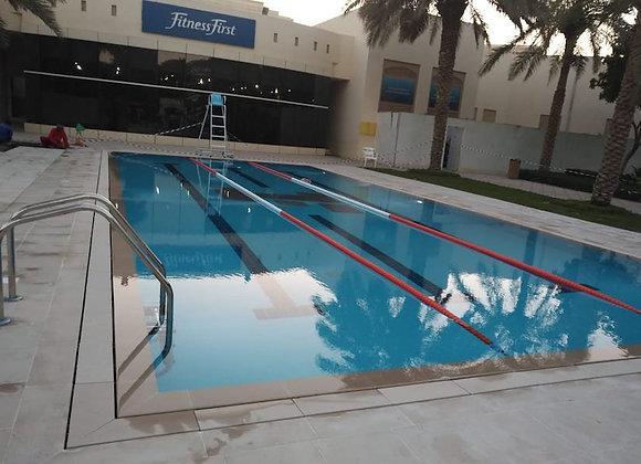 Fitness First Dubai Swimming Pool
