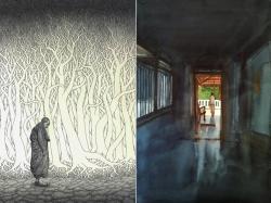 Past Exhibition - Paintings by Prashant Prabhu & Prakash Ghadge