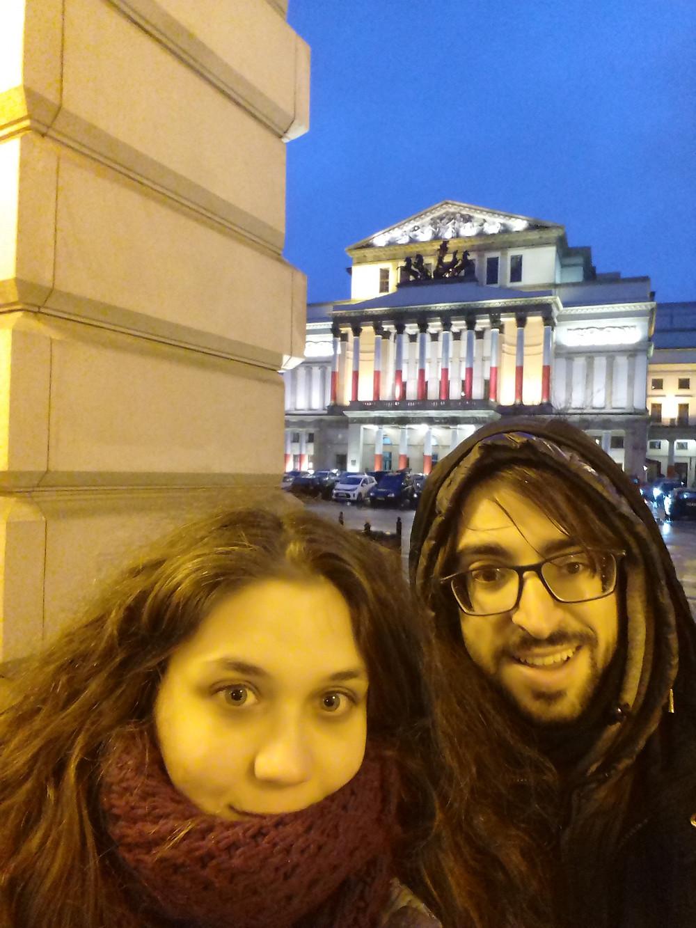 I nostri #BlindfoldTravellers Edoardo e Domitilla hanno festeggiato l'arrivo del nuovo anno a Varsavia, destinazione del loro viaggio a sorpresa Blindfold Travel!