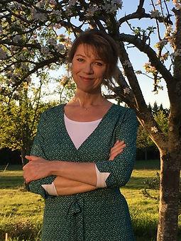 Anne Berthoud socio-esthéticienne et professeur de yoga
