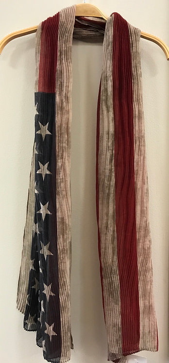 American Flag Scarf