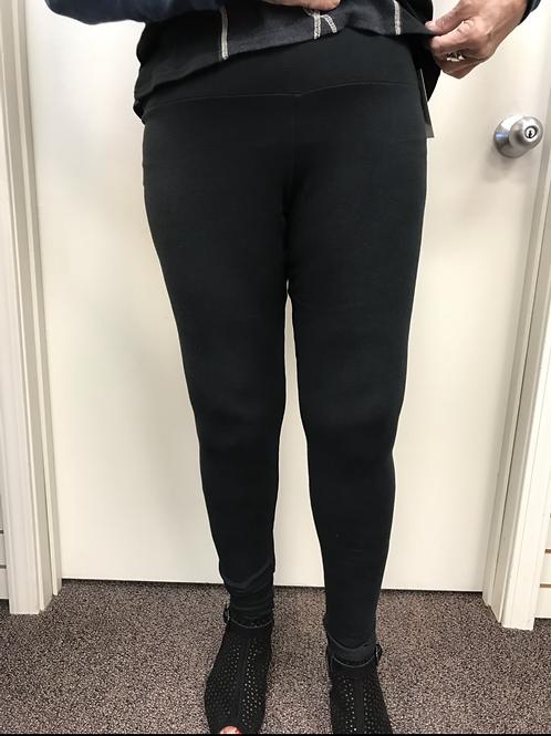 Black Cotton Legging
