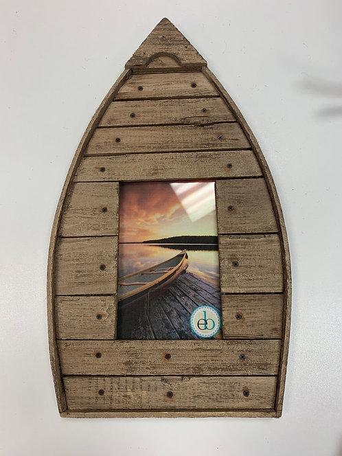Wood Boat Frame