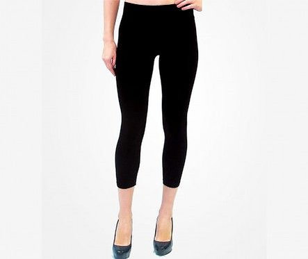 High Waisted Cropped Legging