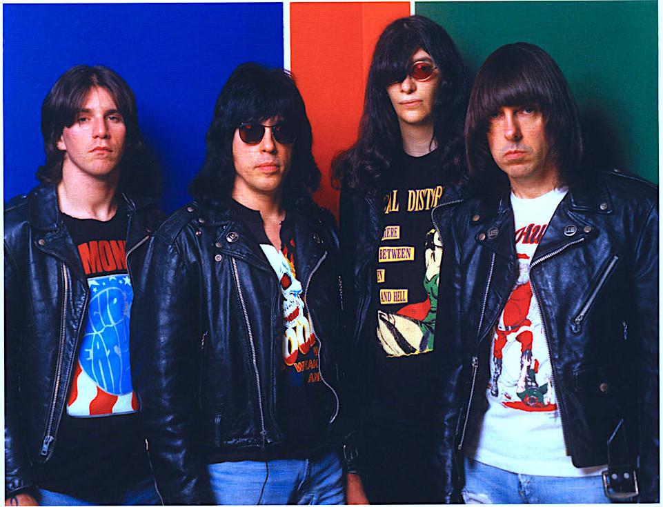 Ramones in the 90's CJ, Marky, Joey & Johnny