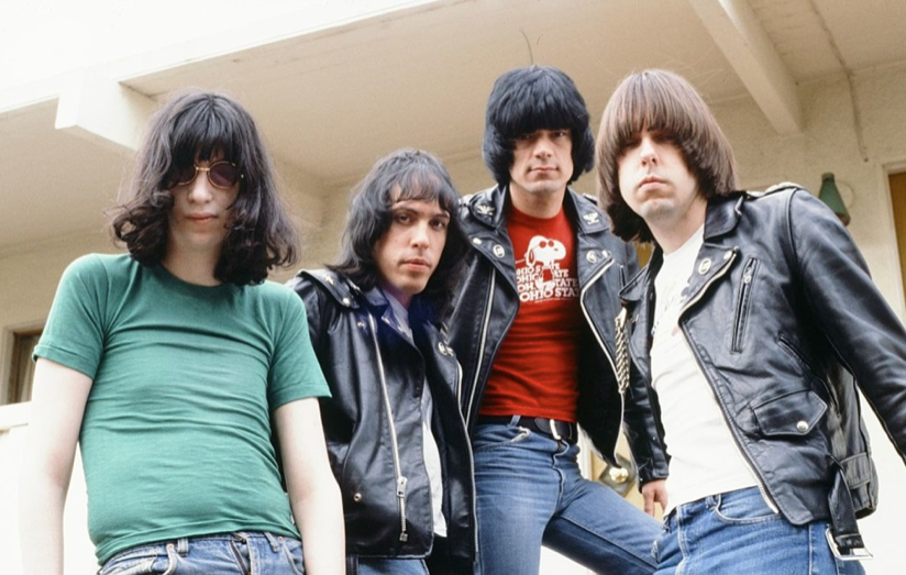 Ramones with New Drummer Marky