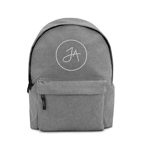 JA Embroidered Backpack