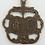 Thumbnail: Two Hearts Miraculous Medal Ribbon, Small (#360)