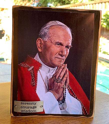 """St. John Paul II  7""""h x 5.5""""w"""