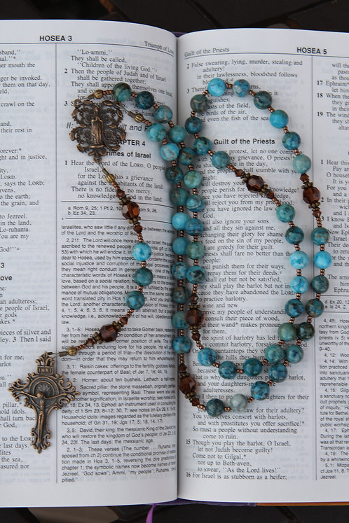 bronze rosary
