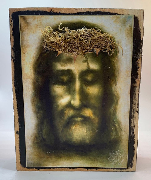 "Holy Face of Jesus  7""h x 5.5""w"