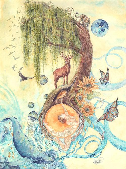 Mother Nature Fine Art Print