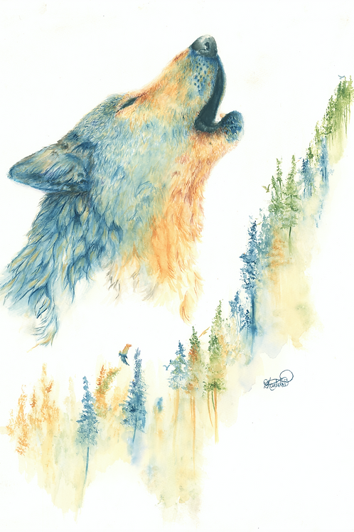 Cry of the Forest Print