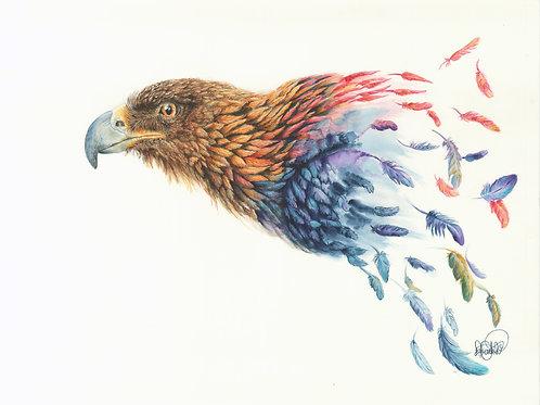 Eagle Winds of Change Print