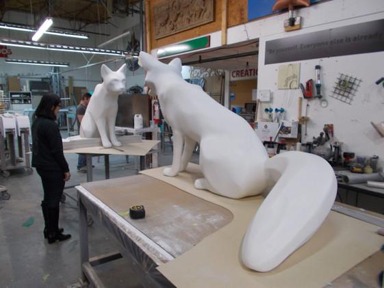 Digital Sculptures In progress