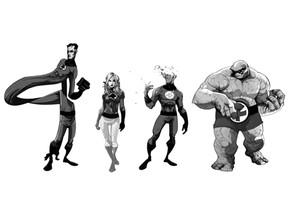 Les 4 Fantastiques : nos super-commerciaux