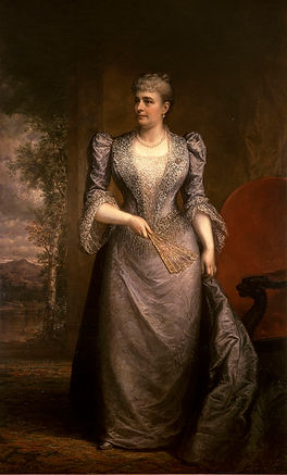 Portrait of Caroline Scott Harrison