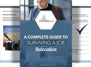 A Complete Guide to Surviving a Job Relocation by Master Suites Corporate Housing