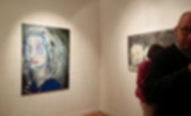 Sirène ( Mermaid), 140 x 100 cm, oils on canvas