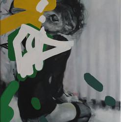 Aspettare, 70x50cm,oil on canvas, 2019