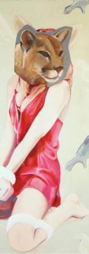 la mariée, oil on canvas