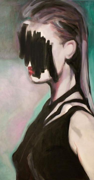 En morceaux , 165 X 110 cm, oil on canvas