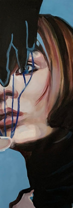 portrait, oils on canvas, 2021