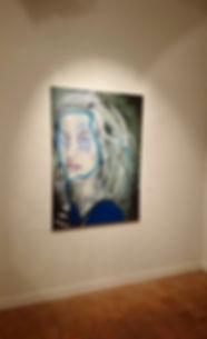 Syrène, 140 X 100 cm, oils on canvas