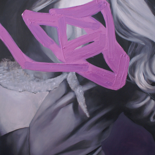 Tag rose, oil on canvas,100 X 70 cm 2019