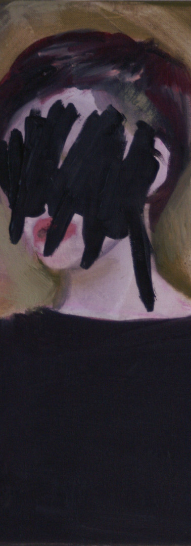 Portrait ,oils on canvas
