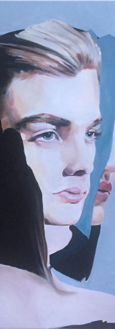 Couplé, 120 x 100 cm,2019