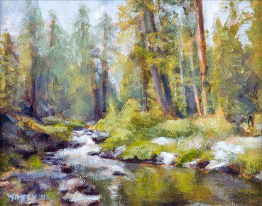 Whispering woods- SOLD
