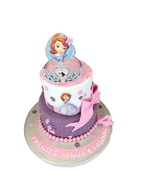 Prenses Taçlı Pasta