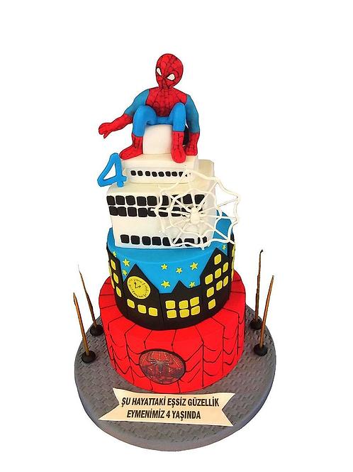 Spiderman Figür Pasta